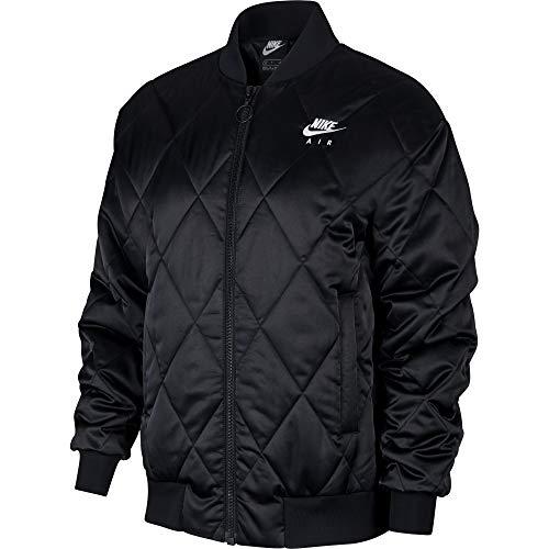 Nike Damen Air Synthetic-Fill Jacket, Schwarz, Schwarz, Weiß, M