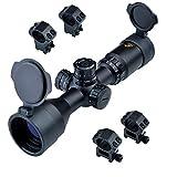 Eagle Eye Zielfernrohr Luftgewehr 11mm Rifle Scope 3-9x42 CE R/G (25.4mm) Kurz P4 Gläsern Absehen Zielfernrohre für Jagd und Sport Mit Weaver und Dovetail 2 Verschiedenen Montage