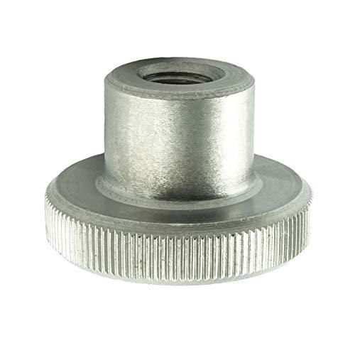 Eisenwaren2000 | M8 Rändelmuttern hohe Form (10 Stück) - Rändel-Mutter DIN 466 - Edelstahl A1 1.4305 - rostfrei