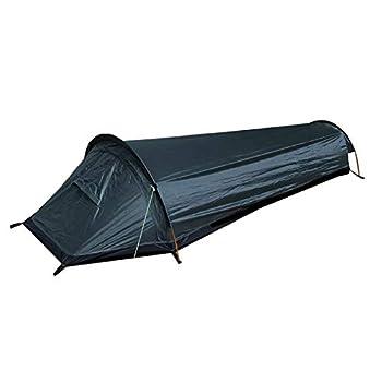 Ablerfly Tente de Randonnée Ultra Légère 1 Personne pour Trekking d?Extérieur, Camping Tente, Imperméable & Anti-Insectes & VentiléeTente, avec Installation Facile Cosy