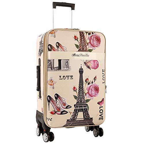 Mdsfe Retro Password Box Trolley large Capacity Suitcase Wheels Travel Bags Rolling Luggage - 4.28'