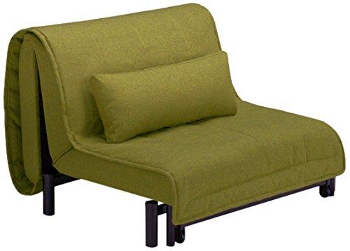 フランスベッド 折たたみソファベッド ムービンテリア ワーモ2 シングルサイズ グリーン 50405120
