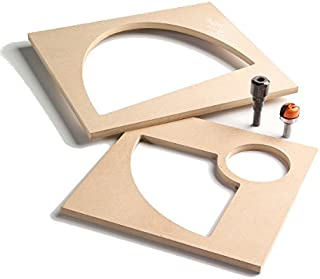 CMT TMP-011 Bowl & Tray System MDF Tray Template