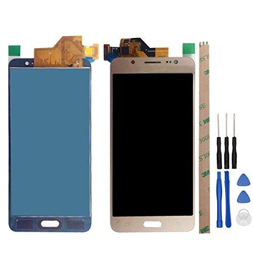 West Dragon LCD Touchscreen für Samsung Galaxy J5 2016 Display Ersatz Bildschirm Komplettes mit Werkzeuge für Samsung J5 2016 J510F (Gold)