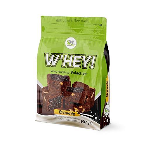 Proteine Whey- Proteine del siero del latte W'HEY 907 g (Brownie)