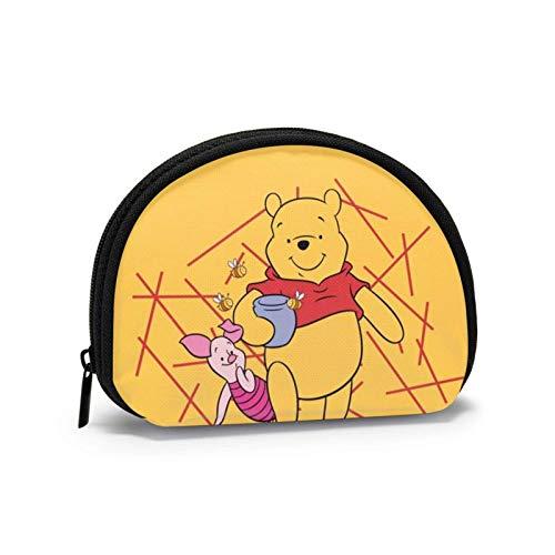 Bolsa de almacenamiento de concha de dibujos animados mujeres y niñas lindo moda monedero t bolsa de cambio multifunción bolso organizador