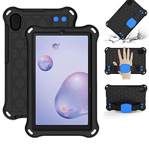 HHF Pad Accesorios para Samsung Galaxy Tab A 8.4 2020, Funda a Prueba de Golpes de Espuma de EVA Soporte de manija Ligera para Samsung Galaxy Tab A 8.4 2020 T307 / T307U (Color : Azul)