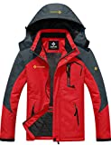 GEMYSE Men's Mountain Waterproof Ski Snow Jacket Winter Windproof Rain Jacket...