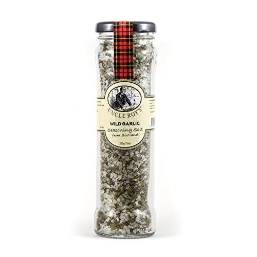 uncle roy Scottish Wild Garlic Salt 220g Jar