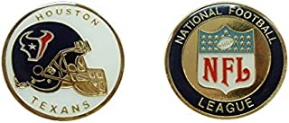 Collectible Challenge Coin- Logo Poker- Lucky Chip for Texans