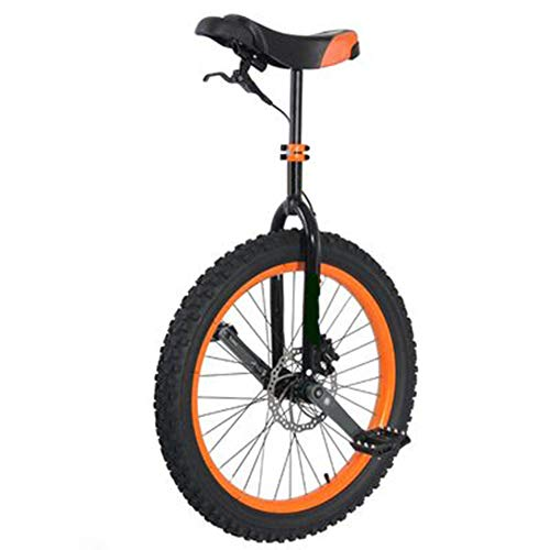 JUIANG 24 Inch with Non-Slip Plastic Pedals Wheel Unicycle - Using Ergonomic Design Exercise Bike Bicycle - Seat Tube Made of Aluminum Alloy Wheel Trainer Unicycle - Suitable for Outdoor Fitness