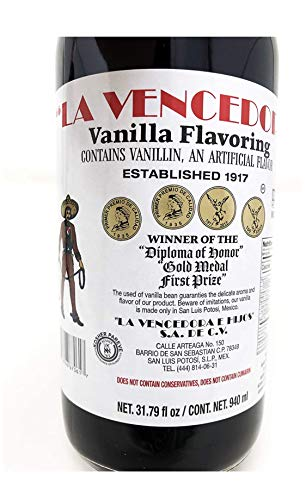 La Vencedora Mexican Vanilla (31.79 oz) ( 4 Pack)