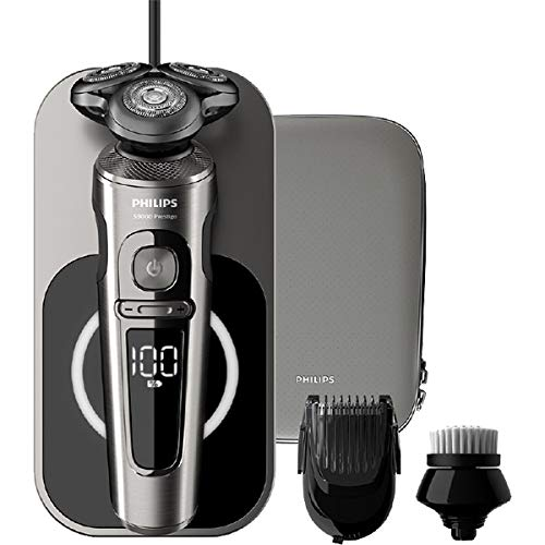 PHILIPS SP9860 / 14 [wet and dry electric shaver S9000 Prestige metallic gray/black]