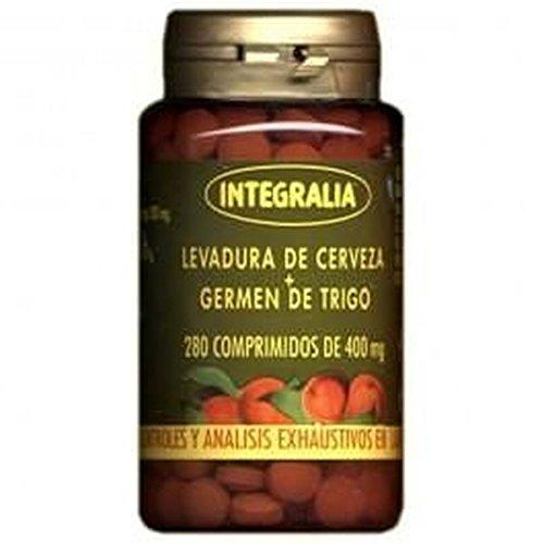 Levadura De Cerveza + Germen De Trigo 280 comprimidos de Integralia