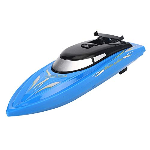 SSBH 2.4GHz Control Remoto AIRADOR, Barco DE Juego para NIÑOS DE Agua, Vida de batería Larga Recargable, hélices duales, Casco Anti-colisión, navegación de Dos vías, protección Impermeable