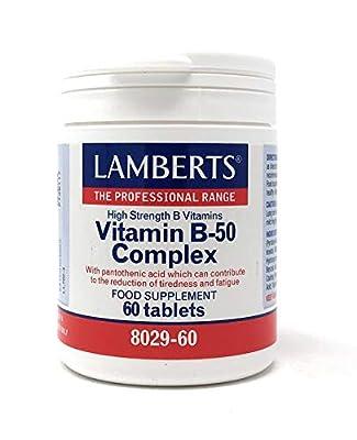 Lamberts Vitamin B-50 Complex - 60 Tabs