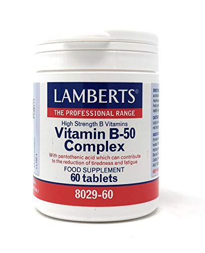 Lamberts Vitamin B-50 Complex 60 tablets by Lamberts