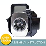 LOUTOC Projector Lamp Bulb V13H010L49 for Epson ELPLP49 PowerLite Home Cinema...