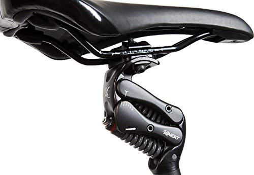 KINEKT 2.1 Aluminum Bike Seatpost with Suspension, Rider Weight LG 200-240 lbs, Post 25.4 x 350 mm