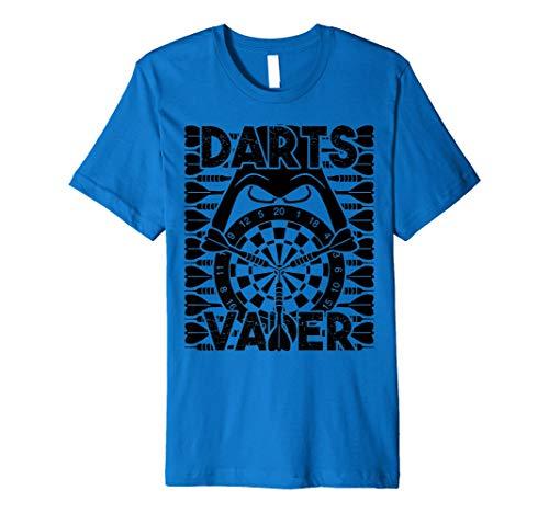 Darts Vader - Witziges Herren Dart Shirt für Darts