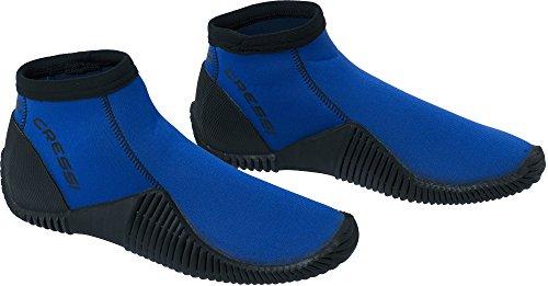 Cressi Low Boot Neopren Tauchschuhe, Blau, S (EU 38/39)