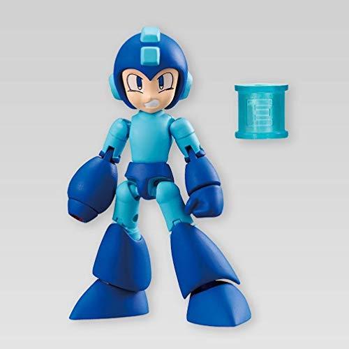 Mega Man 66 Action Dash Original Mega Man E Tank Character Mini Action Toy Figure approx. 66mm / 2.6'in Bandai Shokugan