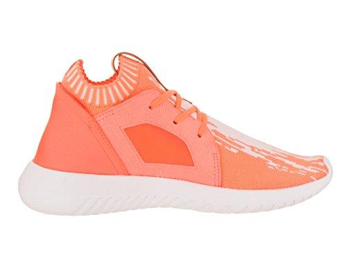 adidas Damen Tubular Defiant PK W Originals Laufschuh, Orange (Sun Glow/Schuhe Weiß), 39 EU