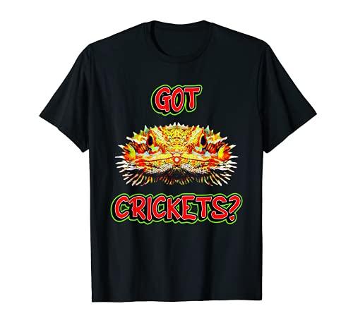 Consigui Grillos Barbudo Dragn Camiseta
