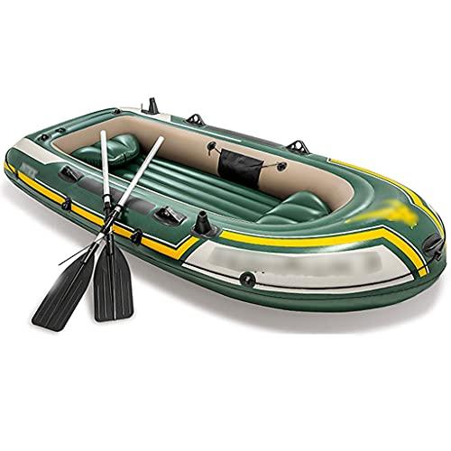 Priority Culture Kayak Gonfiabile Adatto per 3 Persone Canoa Mare con Cuscino Adatto per...
