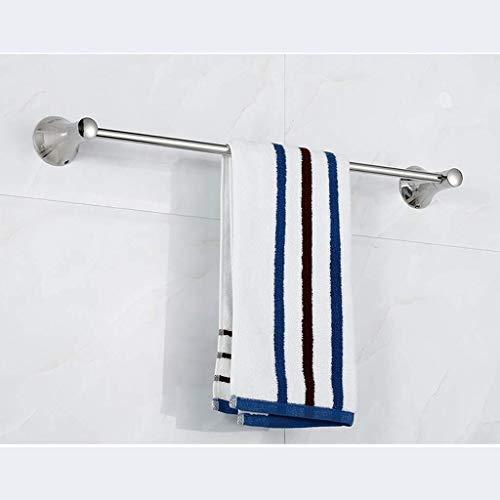DY Estantes de baño, Acero Inoxidable Sus 304 de Toallas de la Caja de almacenaje, Montaje en Pared, Cepillado (tamaño, su Gran Base de Hornos), elíptico Base (Color : Large Horn Base)