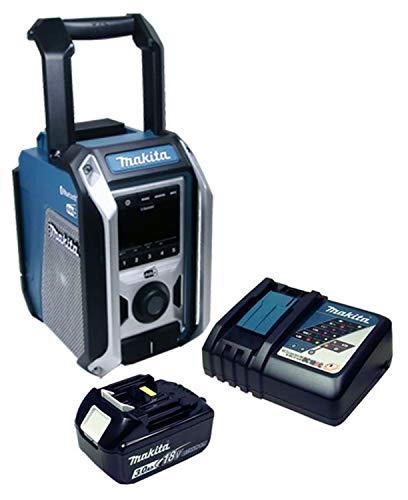 DMR 115 Baustellenradio DAB+ und Bluetooth mit Akku 3 Ah + Ladegerät