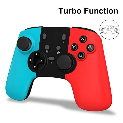 Wireless Switch Pro Controller Gamepad Joypad Remote Joystick for Nintendo Switch Console, Wireless Controller for Nintendo Switch with 6-Axis Gyro Dual Shock, Work with Bluetooth