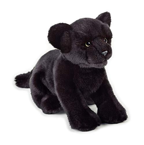 National Geographic 9770743 Panther Plüschtier, schwarz