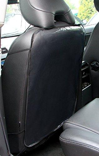 ejp-gbr Rückenlehnenschutz Transparent Ohne Taschen x 2 Stück, Sitzschutz Passend für Cadillac Modelle.
