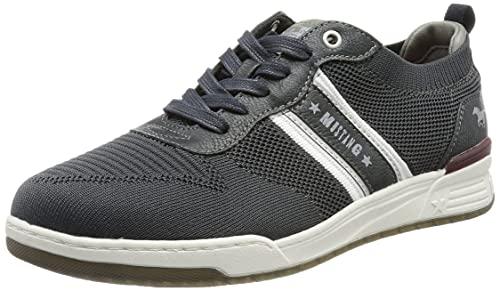 MUSTANG Herren 4166-303 Sneaker, Navy, 42 EU