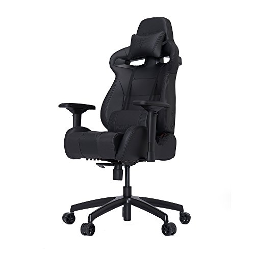 VERTAGEAR Racing Seat Home Office Ergonomic High Back Game Chairs, S-Line SL4000 Medium BIFMA Cert, Black/Carbon