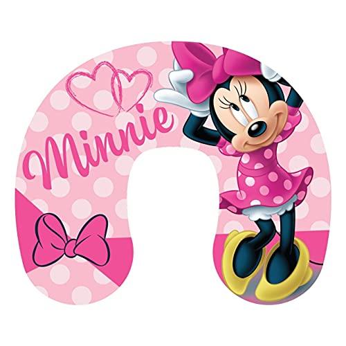 Disney Coussin de voyage pour enfant Thème Minnie Mouse