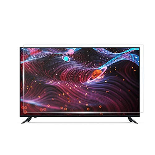 AWSAD Película Protectora de Pantalla de TV, Protector de Pantalla LCD antirreflejo antirreflejo de 32-75 Pulgadas (Color : HD Version, Size : 39 inch/856x478mm)