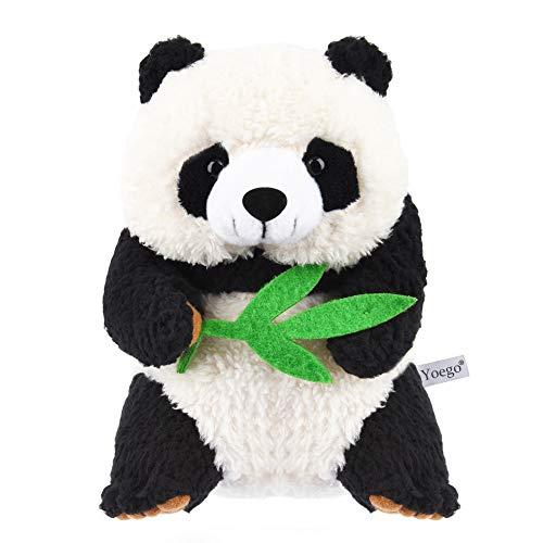 Yoego Talking Panda Repeats What You Say Educational Talking Toy Repeating Panda Toy Gift for Kids Age 3+ (Panda B)