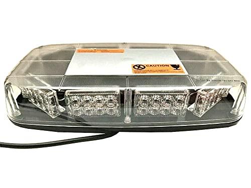 Barra de luz de advertencia con 80 LED, 280 x 165 x 57, luz de luz de señalización giratoria 12 V 24 V E9