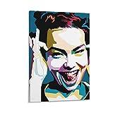 laoyinbi BJORK Homogenic2 Poster, dekoratives Gemälde,