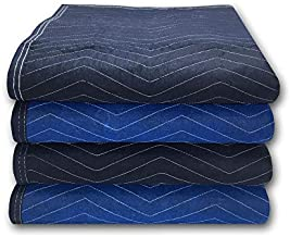 uBoxes 4 Supreme Woven Moving Blankets 72 x 80