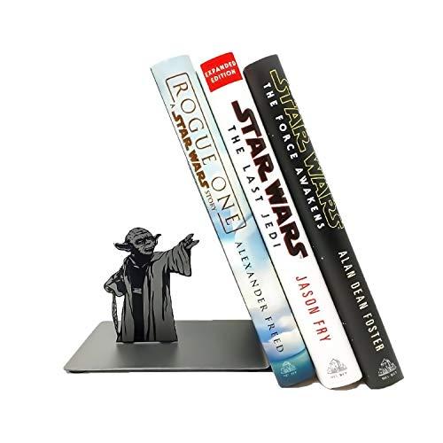 Wuhuayu Sujetalibros Yoda, Sujetalibros De Star Wars, Soportes para Sujetalibros para Oficina Y Hogar, Estantería Yoda The Force