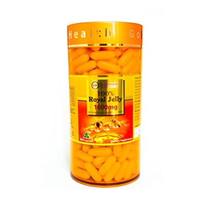 Golden Health Royal Jelly 1600mg 365 Capsules 6% 10-HDA Australian Made