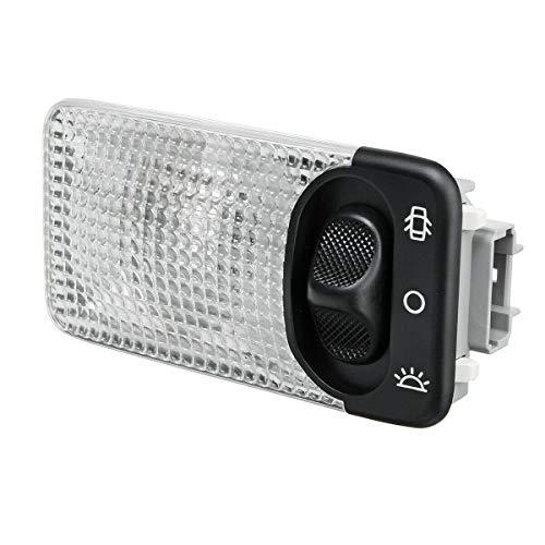 Camisin Luz de Techo Interior del Coche Luz de Lectura de CúPula para C1 C2 C3 206 CC 207 6362AC 6362K9 6362P3