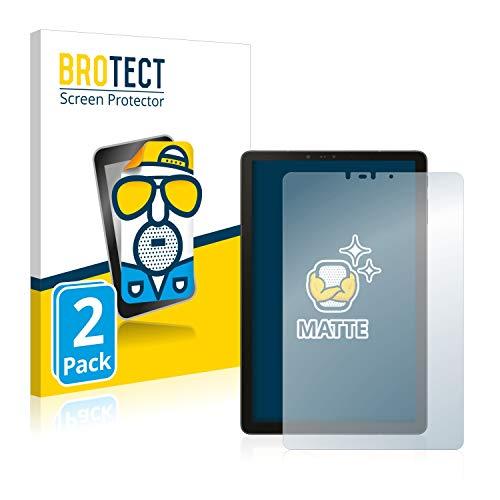 BROTECT 2X Entspiegelungs-Schutzfolie kompatibel mit Samsung Galaxy Tab S4 10.5 Bildschirmschutz-Folie Matt, Anti-Reflex, Anti-Fingerprint