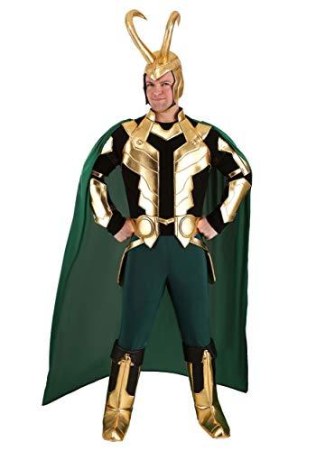 Marvel Loki - Disfraz para hombre (talla grande) - verde - XX-Large
