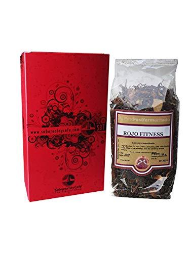 SABOREATE Y CAFE THE FLAVOUR SHOP Té Rojo Pu Erh Yunnan China Fitness - Té en Hebra con Hoja Entera a Granel Adelgazante 100 gr