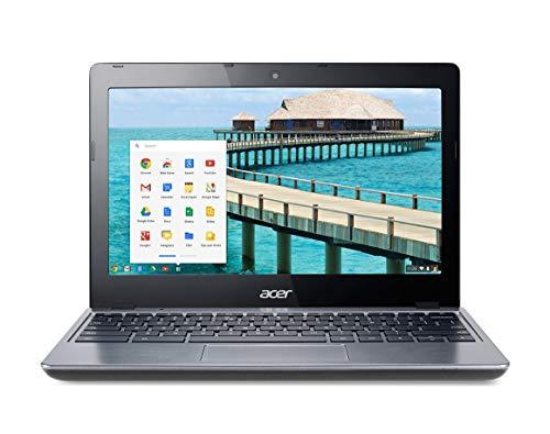 Acer C720 11.6 Inch Chromebook, Intel Celeron 2955U 1.4GHz, 2G DDR3L, 16G SSD, WiFi, HDMI, Chrome OS(Renewed)