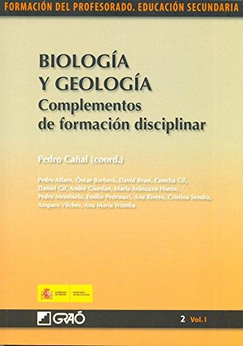 Biología y geología. Complementos de formación disciplinar